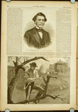 Harper's Weekly. COMPLETE ISSUE, Front cover illustration: Grandmamma. WINSLOW / NATIVE AMERICAN...