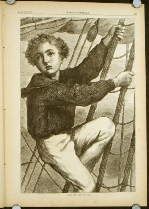 Harper's Weekly. COMPLETE ISSUE, Front cover illustration: In the Sepulchre. BOY SAILOR