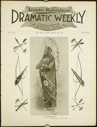 Leander Richardsons Illustrated Dramatic Weekly. THEATRE