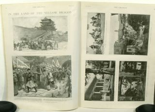 The Peking Massacre / In the Land of the Yellow Dragon / Street Life in Peking IN COMPLETE ISSUE...