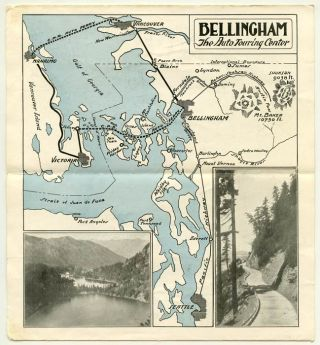 Bellingham Washington Center of Tour Attractions Unexcelled Highways Gateway to Islands, Mountains and British Columbia