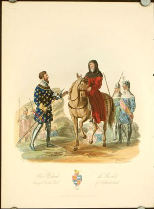 King Richard the Second betrayed by the Earl of Northumberland. 1399. ENGLAND - HISTORICAL COSTUMES
