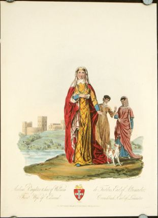 Avelina, Daughter & heir of William de Fortibus, Earl of Albemarle, First Wife of Edmund...