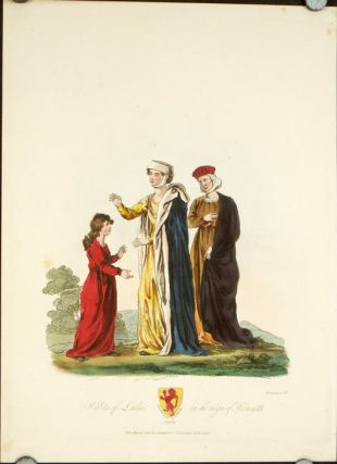 Habits of Ladies in the reign of Henry III. ENGLAND - HISTORICAL COSTUMES
