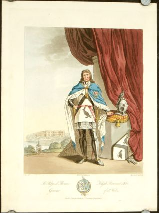 Sir Rhys ab Thomas Knight Banneret & K:G: Governor of all Wales. ENGLAND - HISTORICAL COSTUMES