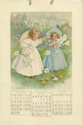 1907 Calendar. Youth's Companion Calendar for 1907. MAUD / MORAN / BLACKSMITH HUMPHREY