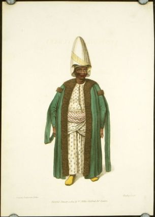 The Kislar Aga, or First Black Eunuch of the Seraglio. COSTUME - TURKEY / OTTOMAN EMPIRE