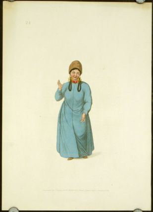A Female Tartar of Tchatska. COSTUME - RUSSIAN EMPIRE