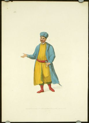 A Kabardinian. COSTUME - RUSSIAN EMPIRE