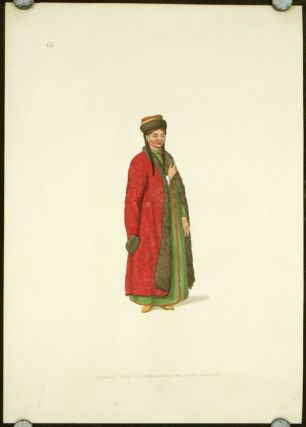 A Female Kalmuk. COSTUME - RUSSIAN EMPIRE