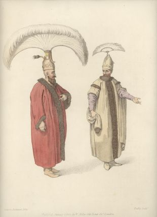 Officers of the Grand Signior. COSTUME - TURKEY / OTTOMAN EMPIRE