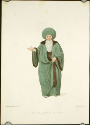 The Chief of the Ulemas, or Professors of the Law. COSTUME - TURKEY / OTTOMAN EMPIRE