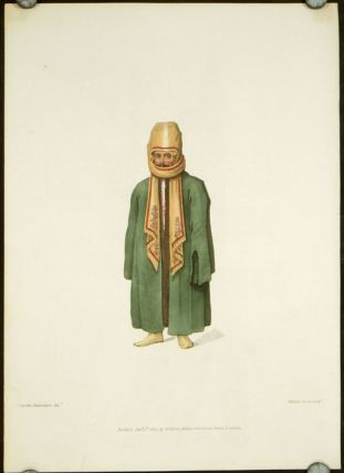 A Turk in His Chall, or Shawl. COSTUME - TURKEY / OTTOMAN EMPIRE