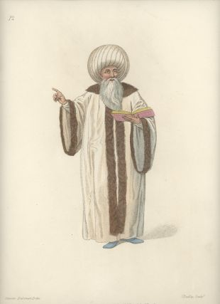 The Mufti, or Chief of Religion. COSTUME - TURKEY / OTTOMAN EMPIRE
