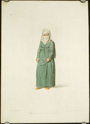 A Turkish Woman in the Dress Worn at Constantinople. COSTUME - TURKEY / OTTOMAN EMPIRE