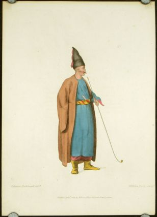 An Albanian. COSTUME - TURKEY / OTTOMAN EMPIRE