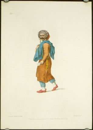 An Inhabitant of the Coast of Syria. COSTUME - TURKEY / OTTOMAN EMPIRE