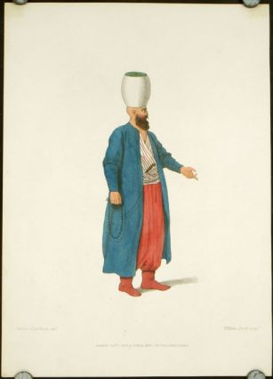 An Officer, of the Janissaries. COSTUME - TURKEY / OTTOMAN EMPIRE
