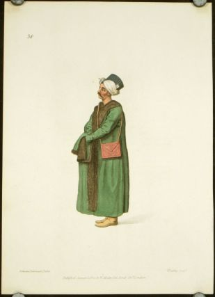 Private Secretary to the Grand Signior. COSTUME - TURKEY / OTTOMAN EMPIRE
