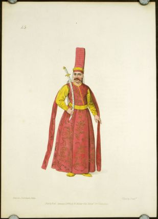 Sword Bearer to the Grand Signior. COSTUME - TURKEY / OTTOMAN EMPIRE