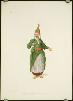 The Confectioner to the Palace. COSTUME - TURKEY / OTTOMAN EMPIRE