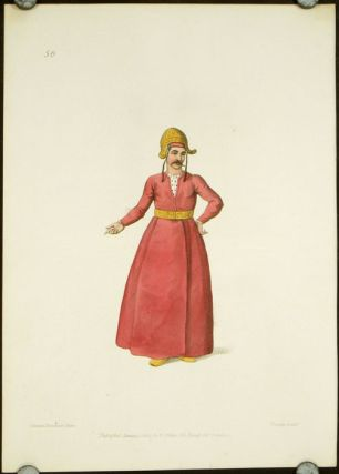 An Ichlogan. COSTUME - TURKEY / OTTOMAN EMPIRE