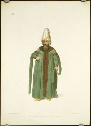The Capitan Pasha. COSTUME - TURKEY / OTTOMAN EMPIRE