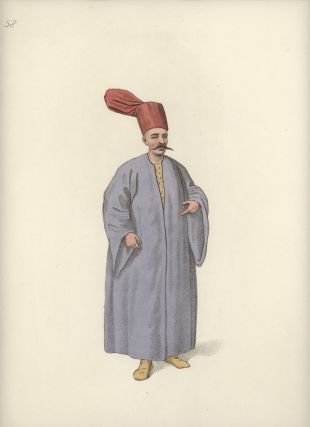 Bostandji Bachi. COSTUME - TURKEY / OTTOMAN EMPIRE