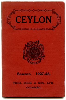 Ceylon. Information for Visitors to the Island. Season 1927-28. SRI LANKA / CEYLON