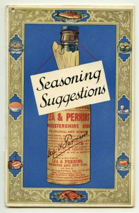 Seasoning Suggestions. Revealing the Chef's Seasoning Secrets for Improving over One Hundred and...