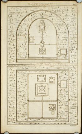 Plan of the Tyen-tang or Temple Dedicated to the Sovereign Lord of Heaven. Plan of the Ti-tang...