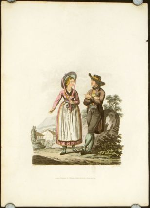 Picturesque representations of the dress and manners of the Austrians.