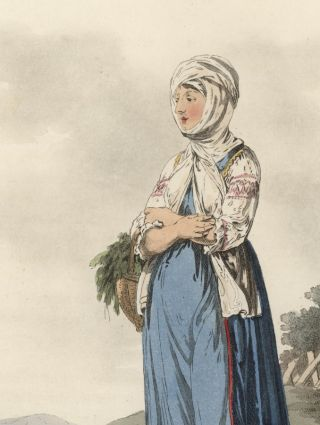 A Sclavonian Country Girl, of the County of Neutra.
