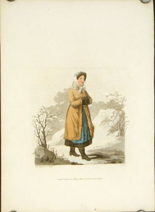 A Countrywoman of Upper Carniola in her Winter Dress. AUSTRIA - CARNIOLA