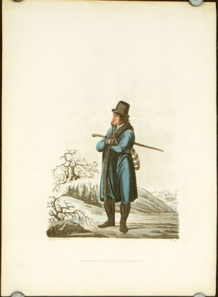 An Inhabitant of the Lowlands of Moravia in his Winter Clothes. AUSTRIA - MORAVIA