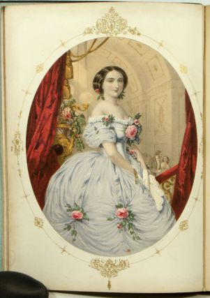 D'Albert's Album 1856. SHEET MUSIC - CHROMOLITHOGRAPHIC COVERS, Charles Louis Napoléon...