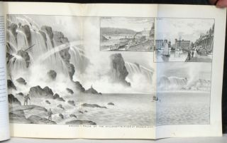 "The West Shore August, 1887 COMPLETE WITH FOLDOUT PANORAMA ""Oregon - Falls of the Willamette..."