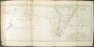 Chart containing the greater part of the South Sea to the South of the Line, with the Islands...