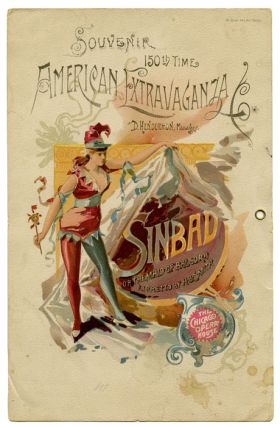 Sinbad,or The Maid of Balsora. EDDIE / 19TH CENTURY AMERICAN MUSICAL THEATRE FOY, book, lyrics,...