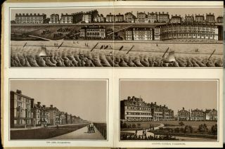 Folkestone, Sandgate and Hythe. ENGLAND / VICTORIAN VIEW BOOK