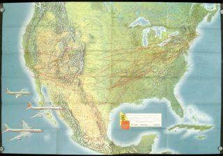 Welcome Aboard. (Map title: American Airlines System Map.) (American Airlines travel pack)....