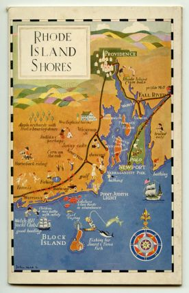 Rhode Island Shores. Concerning the Charm of Old South County, Newport, Block Island and...