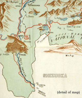 Yamanashi Prefecture Sight-Seeing Guide Map.