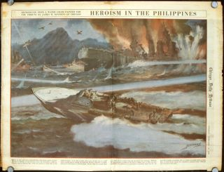 Heroism in the Philippines. Published in the Chicago Daily Tribune, Tuesday, February 10, 1942....