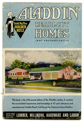 Aladdin Readi-Cut Homes (Not Prefabricated). 1950s HOUSE PLANS.