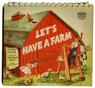 Let's Have a Farm. A Build-Up Book. Jeffrey Victor