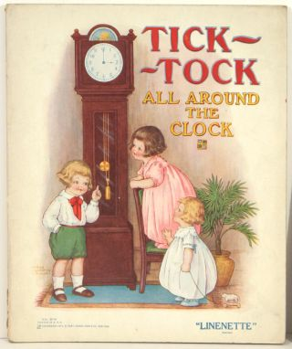 Tick-Tock All Around the Clock. CLOCKS - EDWARDIAN CHILDREN'S BOOK