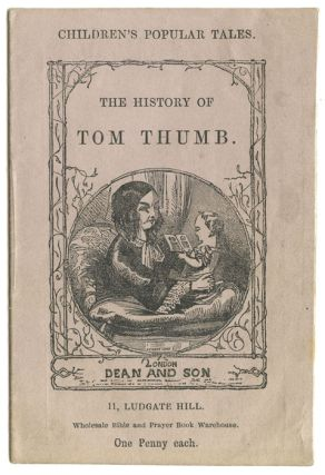 The History of Tom Thumb. MINIATURE VICTORIAN CHILDREN'S BOOK