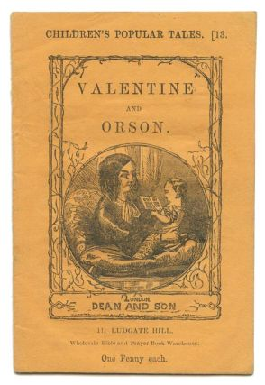 Valentine and Orson. MINIATURE VICTORIAN CHILDREN'S BOOK