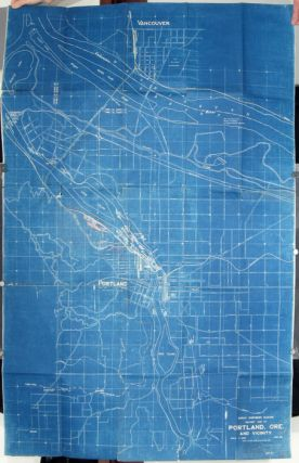 Great Northern Railway. Railway Map of Portland, Ore. and Vicinity. June 1927. OREGON -...